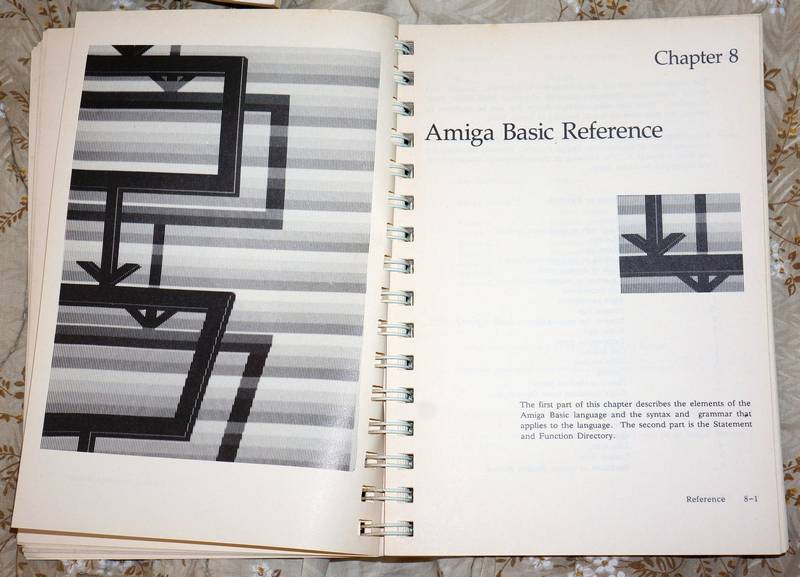 For Sale Some Amiga Manuals